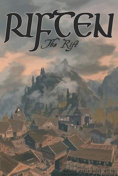 Riften - The Rift - The Elder Scrolls V: Skyrim. The Elder Scrolls, Elder Scrolls Games, Elder Scrolls V Skyrim, Video Game Posters, Video Game Art, Video Games, Skyrim Cosplay, Anime Cosplay, Comic Games