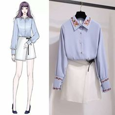 Korean Fashion – How to Dress up Korean Style – Designer Fashion Tips Fashion Drawing Dresses, Fashion Illustration Dresses, Fashion Dresses, Korean Fashion Trends, Korean Street Fashion, Asian Fashion, Cute Fashion, Look Fashion, Girl Fashion