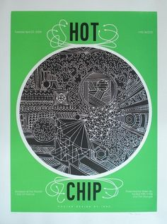 Hot Chip music gig posters