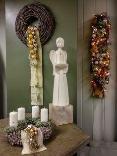 ass den Wohnraum Frieden finden  #Advent #Weihnachten #Adventsdeko #Engel #Wandschmuck #Wandkranz #Adventskranz #Floristik    EBK-Blumenmönche Blumenhaus – Google+