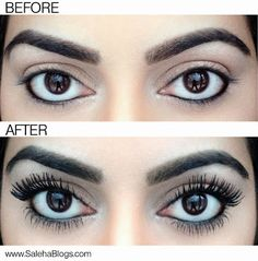 DIY Falsies: Using a Q-tip coat your lashes with baby powder. Then apply mascara and repeat. The baby powder clings to the lashes making them appear longer and thicker. Makeup Tricks, Makeup Hacks Mascara, How To Clean Makeup Brushes, Makeup Ideas, Beauty Makeup, Eye Makeup, Hair Makeup, Hair Beauty, Beauty Habits
