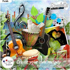 Create your own Melody (PU) kit by Simplette