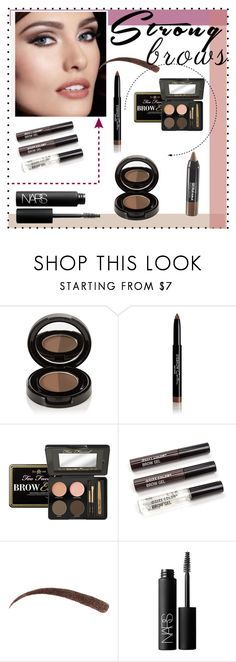 """""""Untitled #75"""" by gissellramirez ❤ liked on Polyvore featuring beauty, Anastasia Beverly Hills, Givenchy, Too Faced Cosmetics, NARS Cosmetics, Maybelline, BeautyTrend, strongbrows and boldeyebrows"""