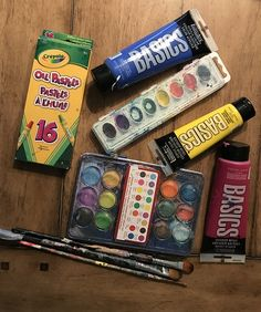Art materials for summer fun Group Art Projects, Projects For Kids, Summer Art Activities, Online Art Courses, Art Store, Painting For Kids, Beautiful Paintings, Dollar Stores, Kids Playing