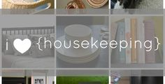 The Power of the Mundane: Why I Love Housekeeping I like what she says here.  It's helpful in reworking my thoughts towards housekeeping.