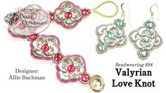 Valyrian Love Knot Design ~ Seed Bead Tutorials