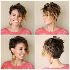 How to curl a long pixie- tutorial