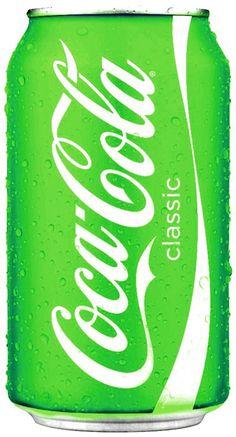 Color Verde Lima - Lime Green!!! Coca Cola