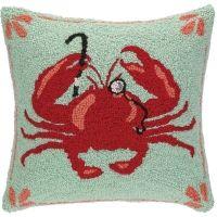 Fashion Crab w/ Monocle Hook Pillow