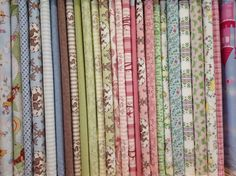 A selection of our childrens' fabrics -Magic Patch Quilting