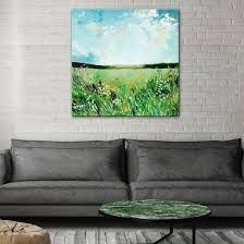 Source The Spring Fields Painting By Emma Bell by United Interiors Field Paint, Paint Colours, Eclectic Style, Interior Paint, Home Art, Fields, Beautiful Places, Designers, Inspirational