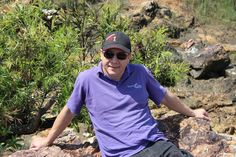 Essential Oils We Trust's Paul Pike relaxes at Calliope River on the way to  Aromaday Rockhampton.