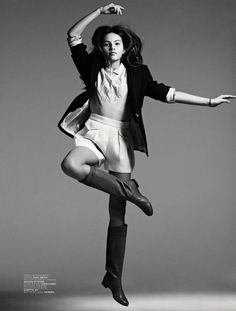 ru_glamour: Born In 2001 - Thylane Blondeau for Jalouse Magazine April 2014