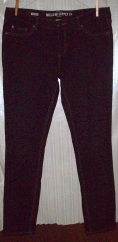 Mossimo Supply Co Size 15R Fit 6 Dark Blue Skinny Jeans #Mossimo #SlimSkinny