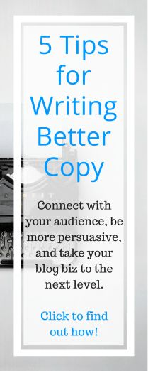 Persuasive copy is one of the key ingredients for successfully growing your business. After all, if you can't convince people that what you offer is worthwhile then they won't be interested in following you or buying your products.  In this article, you'll learn the 5 key elements of copy that CONVERTS.