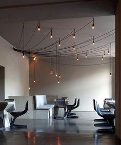 Simple materials interior design ideas
