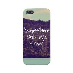 Somewhere iPhone 5 Case ($38) ❤ liked on Polyvore featuring accessories, tech accessories, phone cases, phones, iphone and cases
