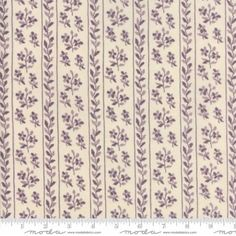 Jardin De Versailles by French General - Floral - Lavender - Moda 13813 19 French General, Cotton Quilting Fabric, Fabric Sewing, Grain Sack, Sewing Notions, Lavender, Etsy Seller, Quilts, Purple