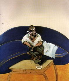 Francis Bacon - study for a self portrait 1963.jpg.PinIt : Anónimo de Piedra