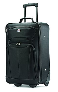 Amazon.com   American Tourister Luggage Fieldbrook II 3 Piece Set, Black   Luggage Sets