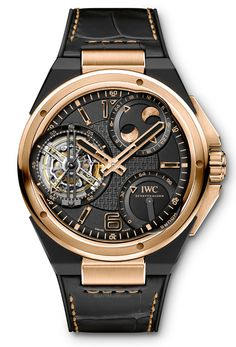 IWC – Ingenieur Constant-Force Tourbillon. Now also available in a 18-carat red gold case.