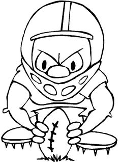 football coloring pages nfl - Cool Boy Coloring Pages