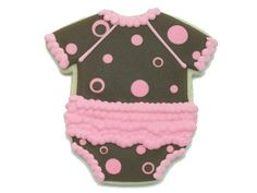 Baby Cookie Favors from cheriscookies.com