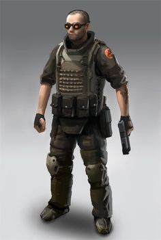 Sci Fi Mercenary Re: fantastic non-sr