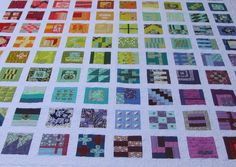 Oh my, I think this has to be my favourite quilt ever. It's huge at 90 x 90 inches, but I just love it. I took my top to Donna fo...