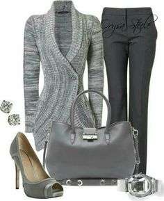 Grey all day!♡♥♡
