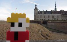 Elsinore (Helsingør), Denmark 2012 LEGO - Life of George visited Kronborg Castle in Elsinore, Denmark. Kronborg is known.....