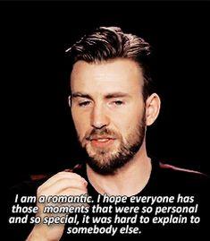 Chris Evans || romantic at heart