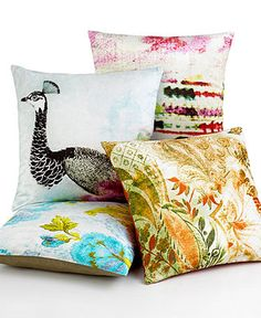 Tracy Porter Wanderlust Printed Decorative Pillows - Bedding Collections - Bed & Bath - Macy's