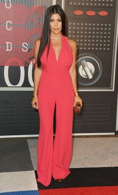 Kourtney Kardashian on the red carpet at the 2015 VMA Movie Awards in Los Angeles, California. | MTV Photo Gallery
