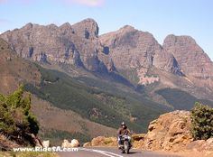 Bainskloof Pass, South Africa by roadrunred, via Flickr Xhosa, Mountain Pass, South Africa, Grand Canyon, Southern, Mountains, Nature, Travel, Image