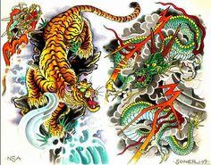 Diseños de Tigres