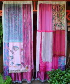 ROCK THE CASBAH Handmade Gypsy Curtains by BabylonSisters on Etsy