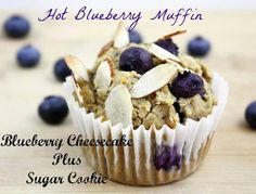 Yummy! Hot Blueberry Muffins~ 1 cube Blueberry Cheesecake + Sugar Cookie https://ashleyprintz.scentsy.us/