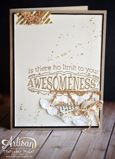 Stampin' Up! Big News: Pure Awesome!   Creations by Mercedes