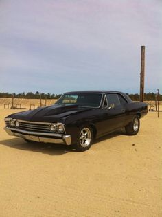 67 Chevelle little to high in the rear