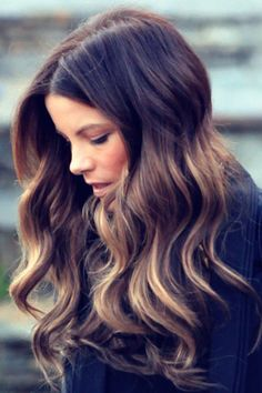 Ombre color - this may be it next
