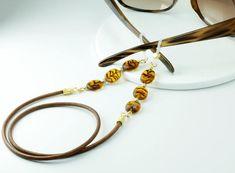 Tortoise Shell Eyeglass Chain, Tortoise Sunglasses, Sunglasses Chain, Tortoise Eyeglass Necklace, To Russian Tortoise, Glasses Online, Chains For Men, Bangles, Bracelets, Eye Glasses, Tortoise Shell, Etsy, Sunglasses