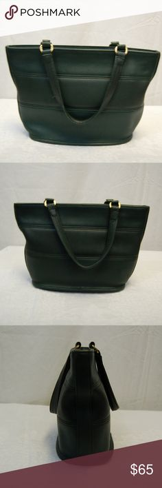 792ed6cabf Shop Women's Coach Green size OS Bags at a discounted price at Poshmark.  Description: Cute mini green leather Coach purse with two inside pockets.