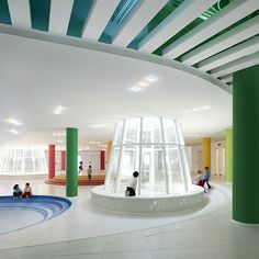The Loop: a colour coordinated kindergarten in China. #architecture, #design