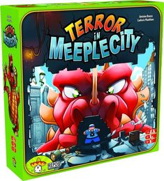 Asmodee Terror In Meeple City Board Game, Cover Art May Vary, Multicolor Best Kids Christmas Gifts, Top Christmas Toys, Baby Play, Game Night, Cover Art, Card Games, Funny Jokes, City, Board