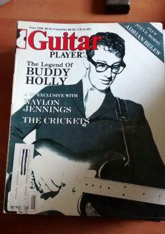 Guitar Player Mag good condition June 1982 Waylon Jennings, Buddy Holly, June, Guitar, Conditioner, Ebay, Guitars