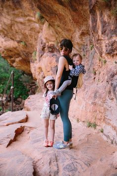 Love Taza offers up her tips for hiking Zion with little ones!