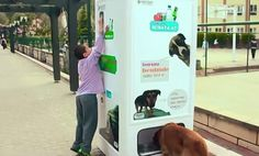 Recycling Box In Turkey Gives Food For Stray Animals In Exchange For Recycled Bottles | http://www.123inspiration.com/recycling-box-in-turkey-gives-food-for-stray-animals-in-exchange-for-recycled-bottles/