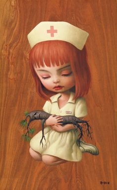 Nurse Sue by Mark Ryden, 2006....one of my favorites!  Possible Tattoo