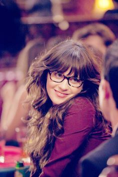 zooey looking super cute as usual